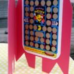 pac man card inlay