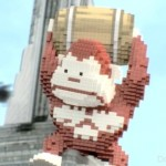 pixels video donkey kong