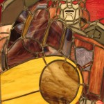 stained glass galvatron
