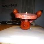 starship enterprise star trek meat sculpture