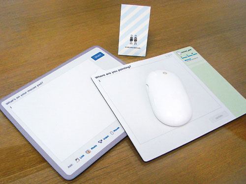 twitter facebook mousepad