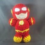 12 The Flash amigurumi doll