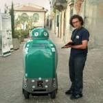 13 dustcart robotic trashcan