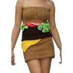 hamburger-dress