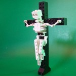 3 lego skeleton crucified