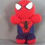 3 spiderman amigurumi