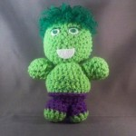 6 The Hulk superhero amigurumi