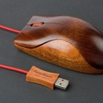 6 wooden mouse