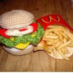 Woolen hamburger 2