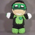 8 Green Lantern (Kyle Rayner) Amigurumi