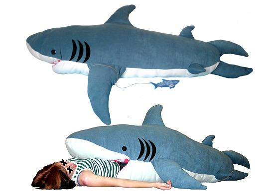 ChumBuddy sleep inside a shark