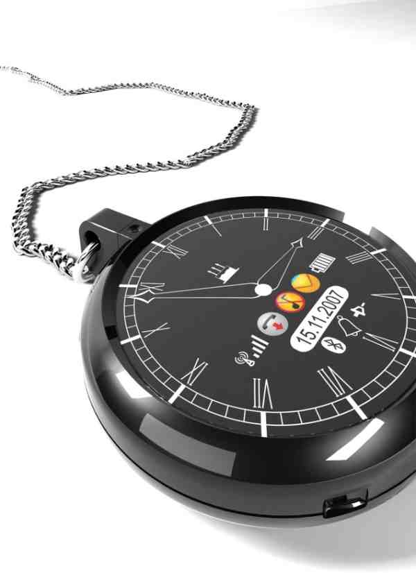 2a617a562 Dial Pocket Watch Concept Might Replace Cell Phones in Future - Walyou