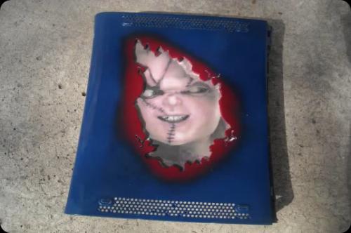 Evil Chucky Takes Over Xbox 360 (2)