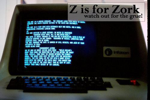 Geek Alphabet A for Away Team Right up to Z for Zork (2)