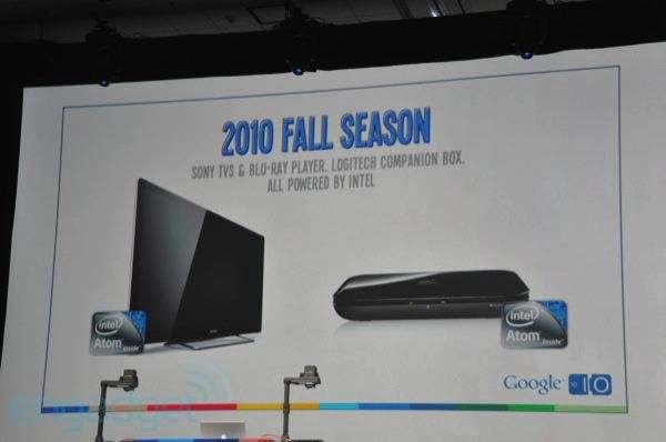 Google TV announcement