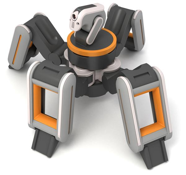 Isopod Robot-rescuer