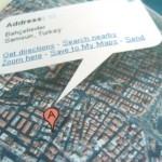 Map in Envelop 1