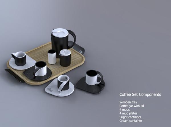 Memorial Coffee Set1