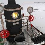 Mint boiler remote controller1