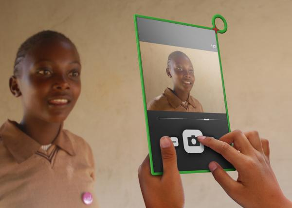 Sideviews OLPC XO 3 tablet