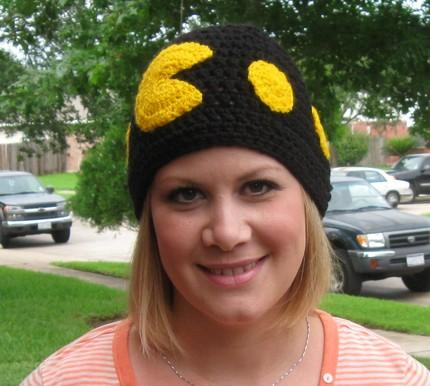 Pacman Hat Crochet (2)