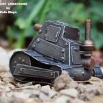 Steampunk miniature tank2