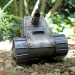 Steampunk miniature tank3