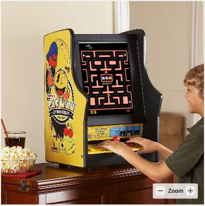 Table top pacman gaming console1