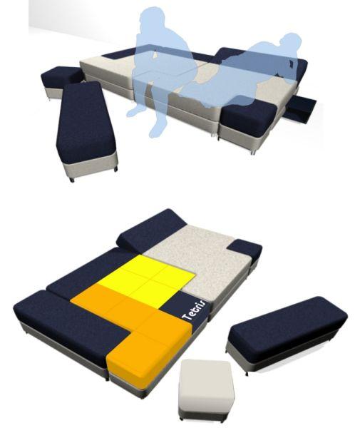 Tetris Couch 2