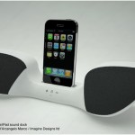 Winged iPhone Sound Dock 2