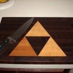 Zelda-Inspired Triforce Cutting Board (3)