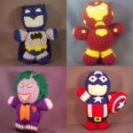 comic book superhero amigurumi image thumb