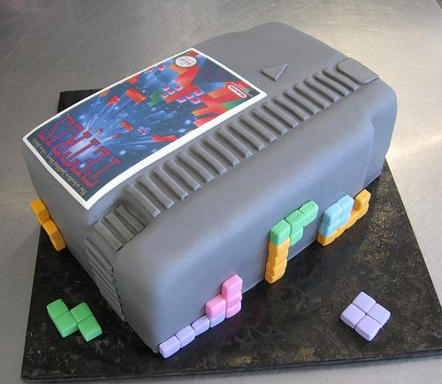 gamer groom cake