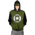 green lantern costume hoodie and mask image thumb
