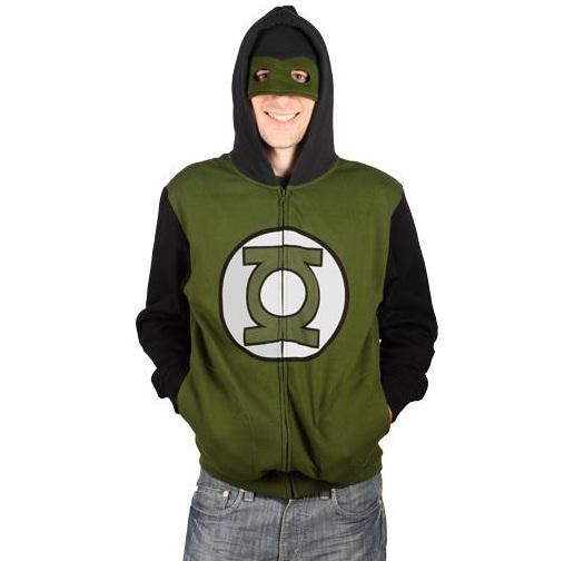 Green Lantern Hoodie (2)