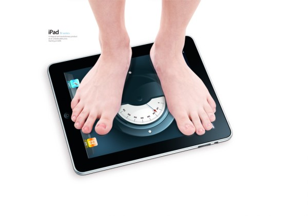 ipad scale app iweight concept