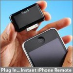 iphone universal remote in hand