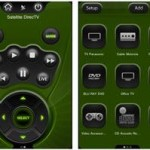 iphone universal remote screens