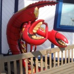 iron man lobster man suit