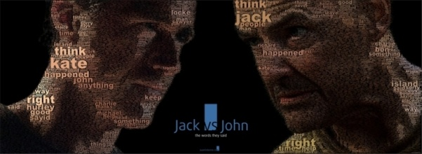 john vs locke lost images mosaic