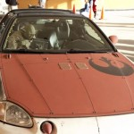 star wars x wing fighter car mod