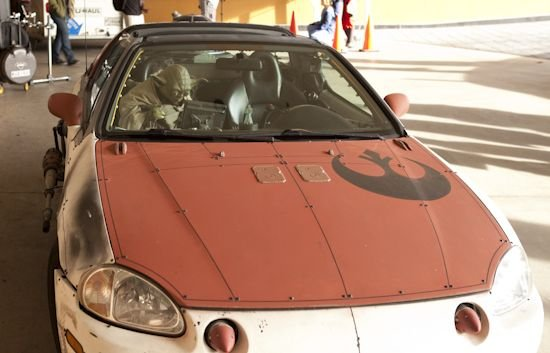 x wing fighter car mod star wars 1