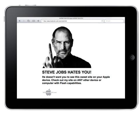 steve jobs hates you