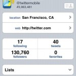 twitter iphone application