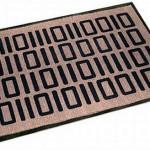 Binary coded mat