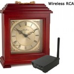 Color Wireless Mantel Clock Camera-RCA