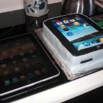 Cool iPad Birthday Cake