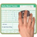 Daily Mood Tracker Mousepad