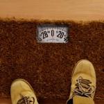 Geeky Doormat scales