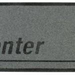 """Geeky mat """"ENTER"""" 1"""